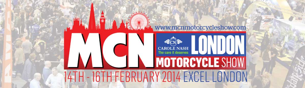 Honda models line-up at MCN London motorcycle show