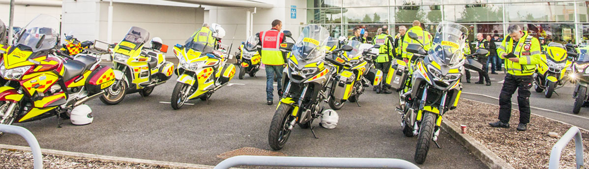 A vital cause: Local Honda dealer supports Blood Bikes